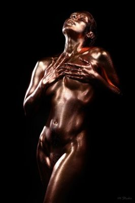 Photo: Edward ShternBody Art: Felix ShteinModel: Olga LondonM-Studio Group Production