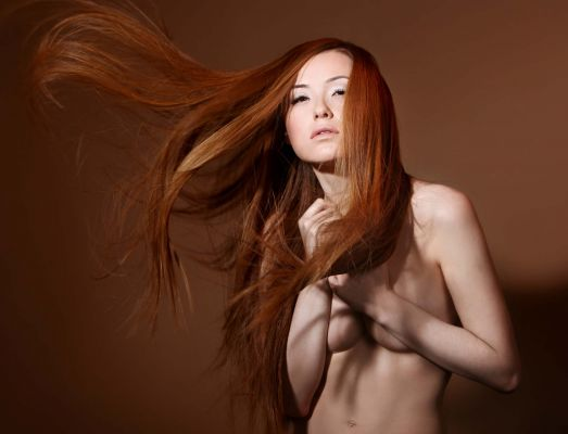 Photo: Edward ShternHairstyle: Oren Or KobiMake Up: Felix ShteinModels: Valeria Gurevich