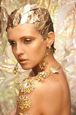 модель Женямакияж Феликс Штейнс мастер класса по фейшен макияжу 2009г. Израиль