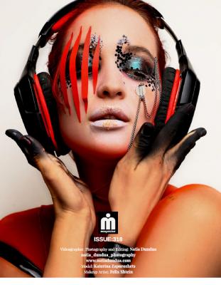 Makeup Felix ShteinPhotograph Natia DunduaModel Katerina Zaporojez