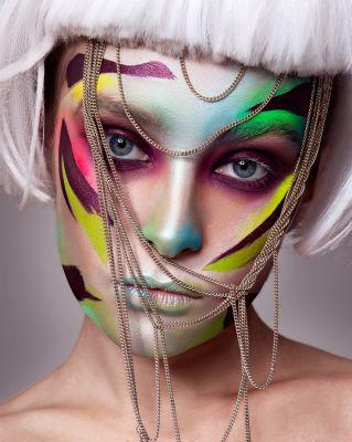 Makeup Felix ShteinPhotograph Mary VostokovaModel Sofi