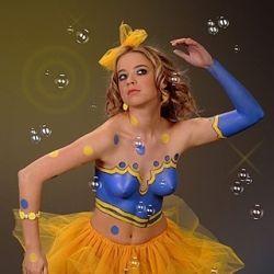 Photographer: Eddi Shtern Model: Sveta Body-art: Vika Kovalenko & Olga Maizler