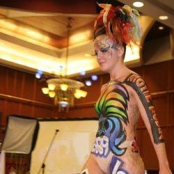 body art: S.Lisitskaya
