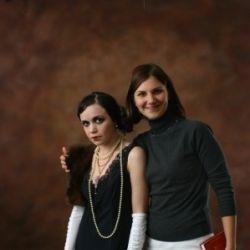 20-е года макияж и стиль:Евгения Симкин