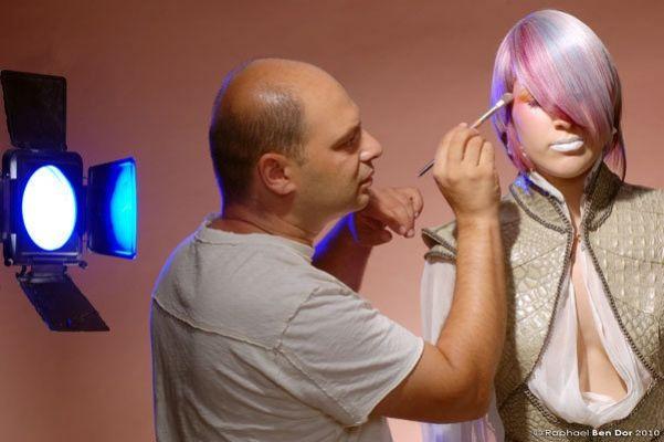 волосы: Рафаель и Моти Рубинымакияж: Феликс Штейнфото: Рафаель Бен Дор